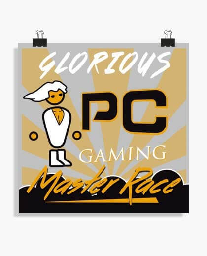 Poster PC Master Race 2018